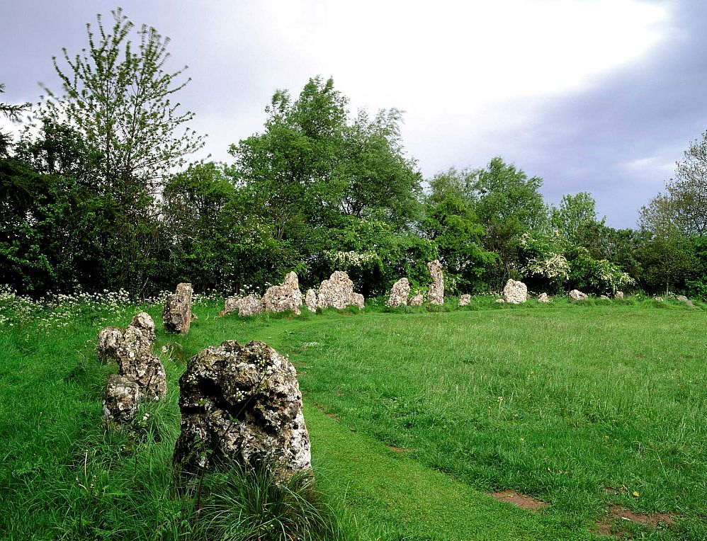 The Rollright Stones has received a stargazing award. Picture © Cotswolds Conservation Board.
