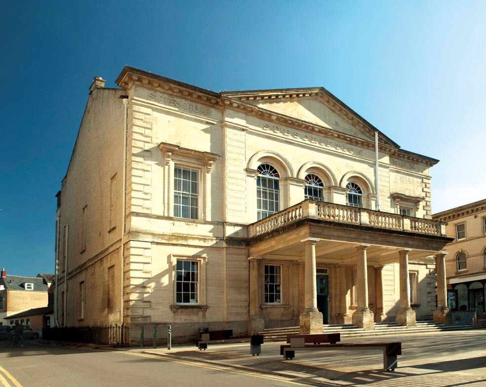 Stroud Subscription Rooms was built in 1833 by public subscription.