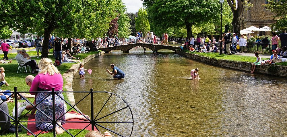 "Bourton-on-the-Water is known as ""the Venice of the Cotswolds"". Picture © Julia Lindop"