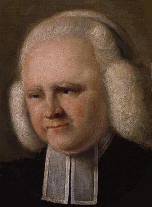 George Whitefield is said to have preached to over 10,000 people at Minchinhampton Common in 1743.