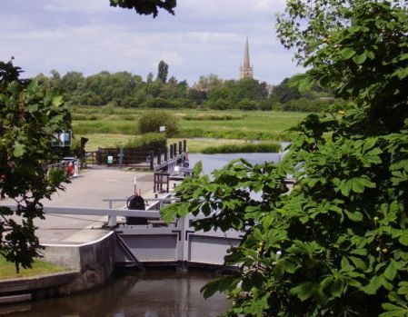St John's Lock, Lechlade, is the highest lock on the Thames.