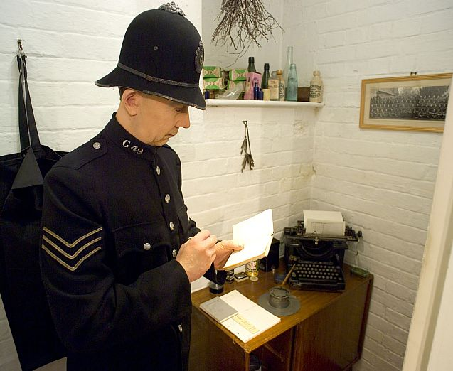 Tetbury Police Museum contains a petition against the formation of a police force in Gloucestershire back in the 1830s.