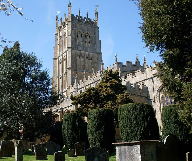 St James Church, Chipping Campden, is one of the magnificent churches built in the Cotswolds thanks to the area's prosperous Medieval wool trade.