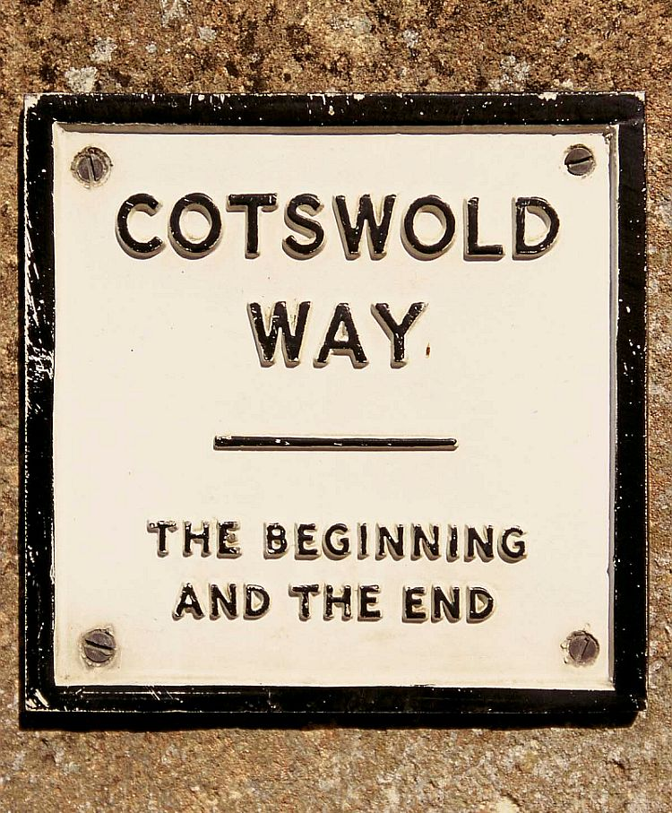 The Cotswold Way - the beginning and the end - at Chipping Campden and Bath. Picture courtesy Cotswolds Conservation Board.