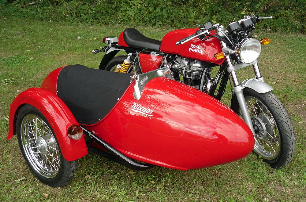 Blockley-based Watsonian Squire is the biggest maker of sidecars in the UK.