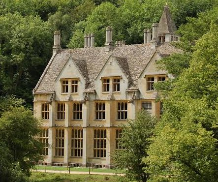 With a fascinating history, Woodchester Mansion, located in a hidden valley in the southern Cotswolds, is now a popular film location.