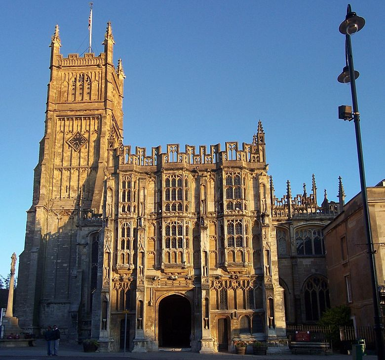 St John the Baptist Church, Cirencester, is the largest parish church in Gloucestershire.