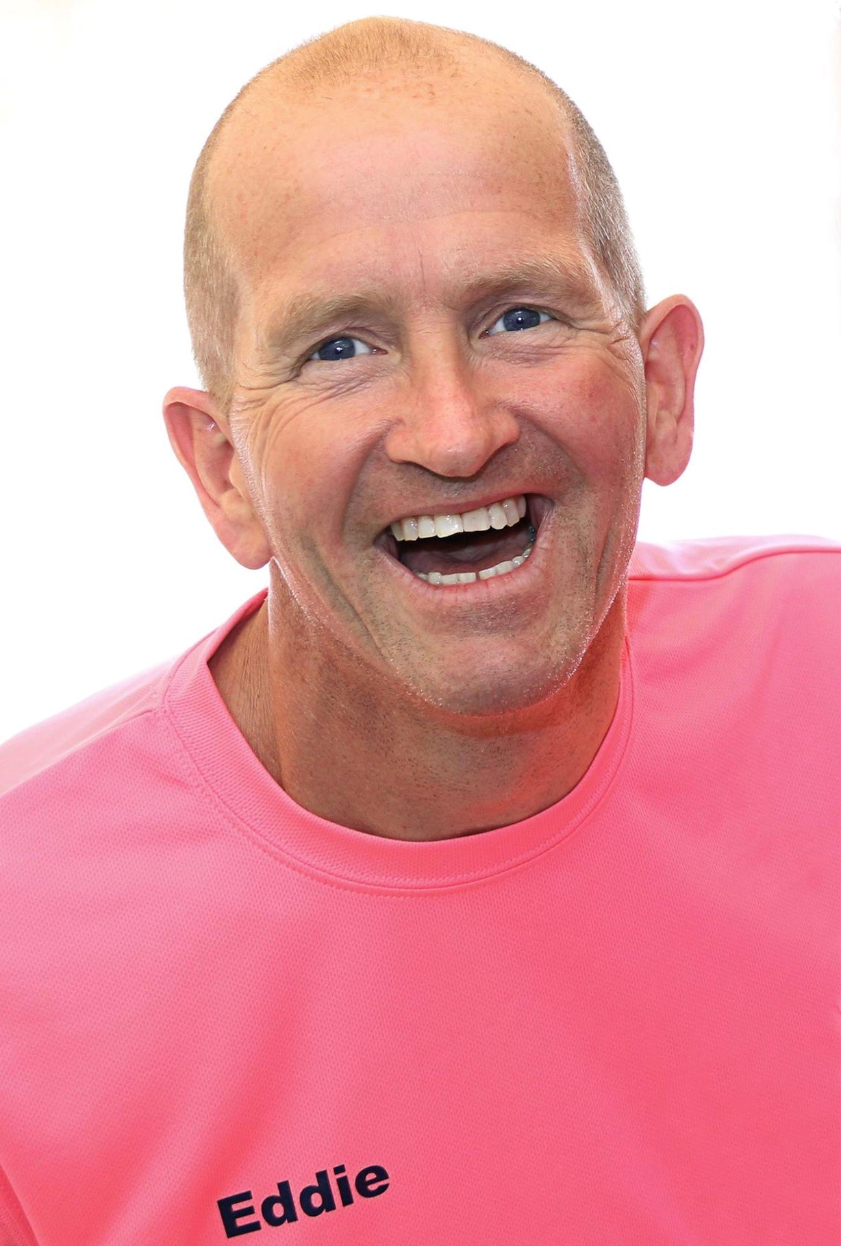 Eddie the Eagle Edwards. Picture copyright Vicky Lewis