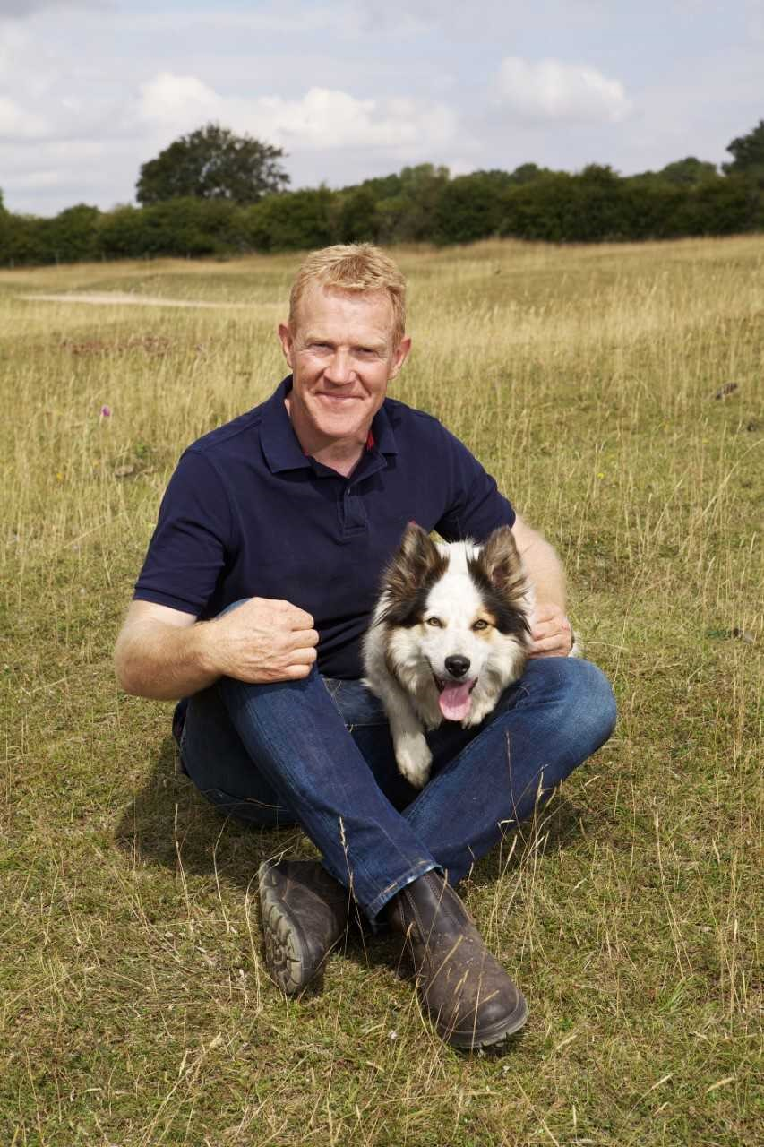 Meningitis Now celebrity ambassador Adam Henson.
