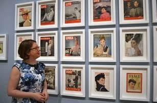 Helen Trompeteler, co-curator of Audrey Hepburn: Portraits of an Icon.