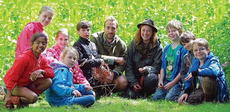 Ben Fogle will be leading a School of Wild in the Cotswolds on Saturday.