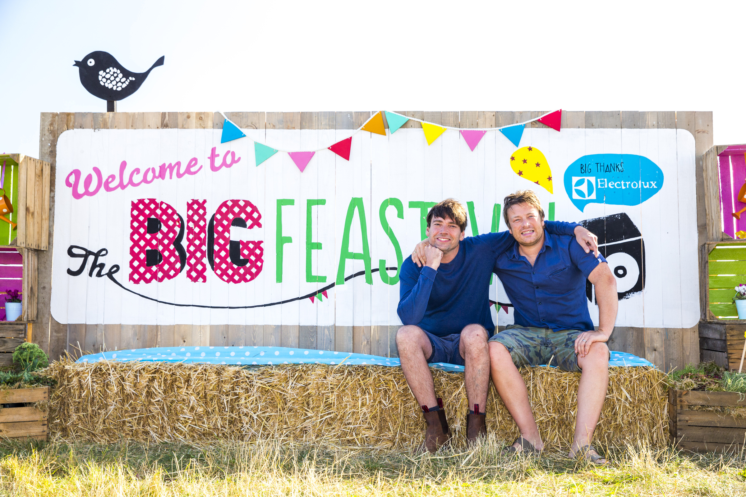 Alex James and Jamie Oliver are looking forward to their fourth Big Feastival.
