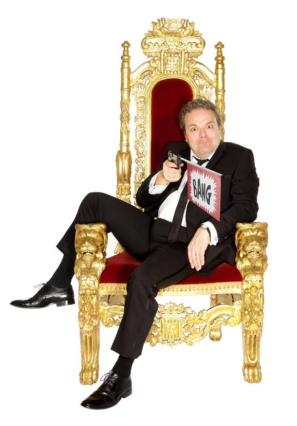 Comedy king: Hal Cruttenden is coming to the Cotswolds in the new year.