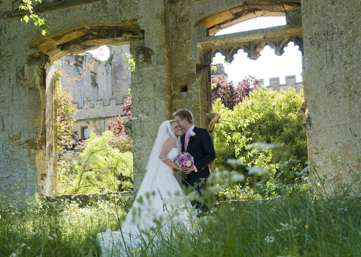 Sudeley Castle is a romantic setting for a wedding.
