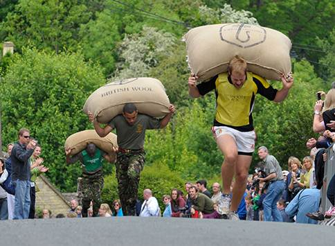 Tetbury Woolsack Races take place on Bank Holiday Monday May 30.