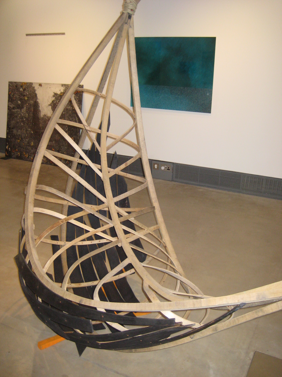 Boat by Beatrix Baker at the new exhibition at The Wilson.