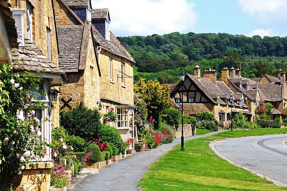 The beautiful village of Broadway is among the dream getaways in the Cotswolds.