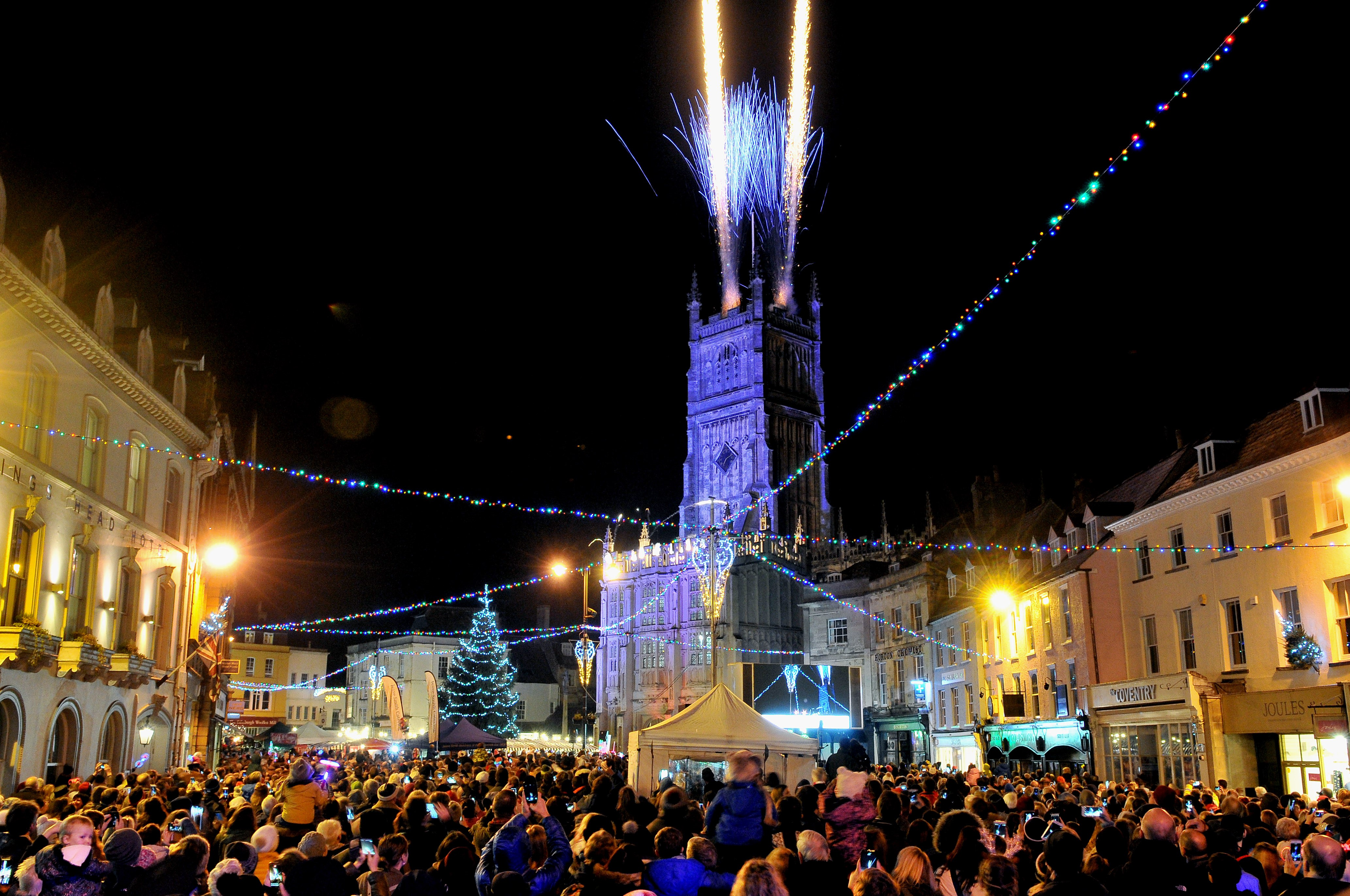 The centre of Cirencester will look something like this on Saturday, December 1!