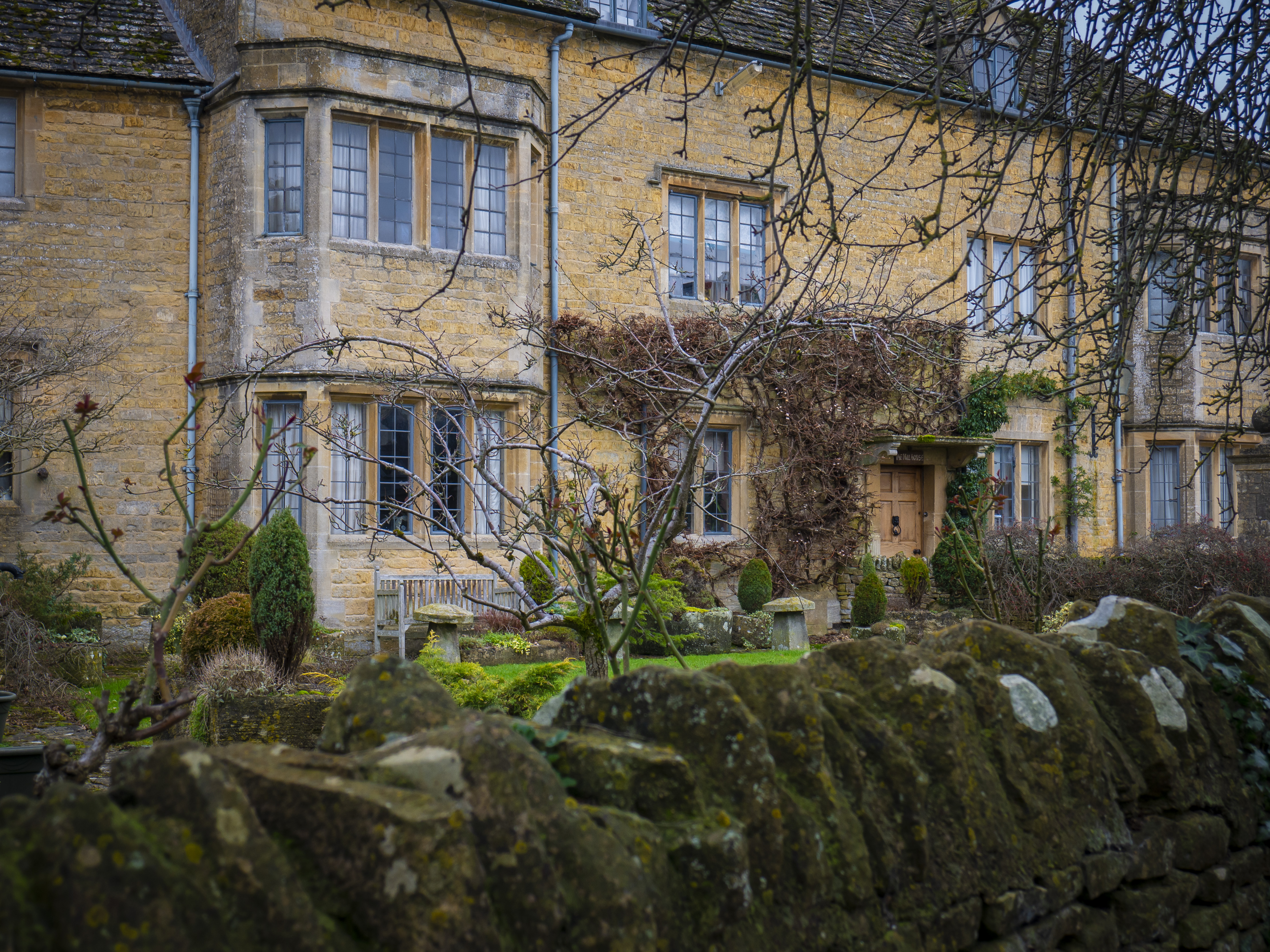 A classic Cotswold house.