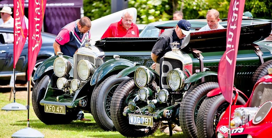 More than 200 Bentleys are set to descend on Sudeley Castle.