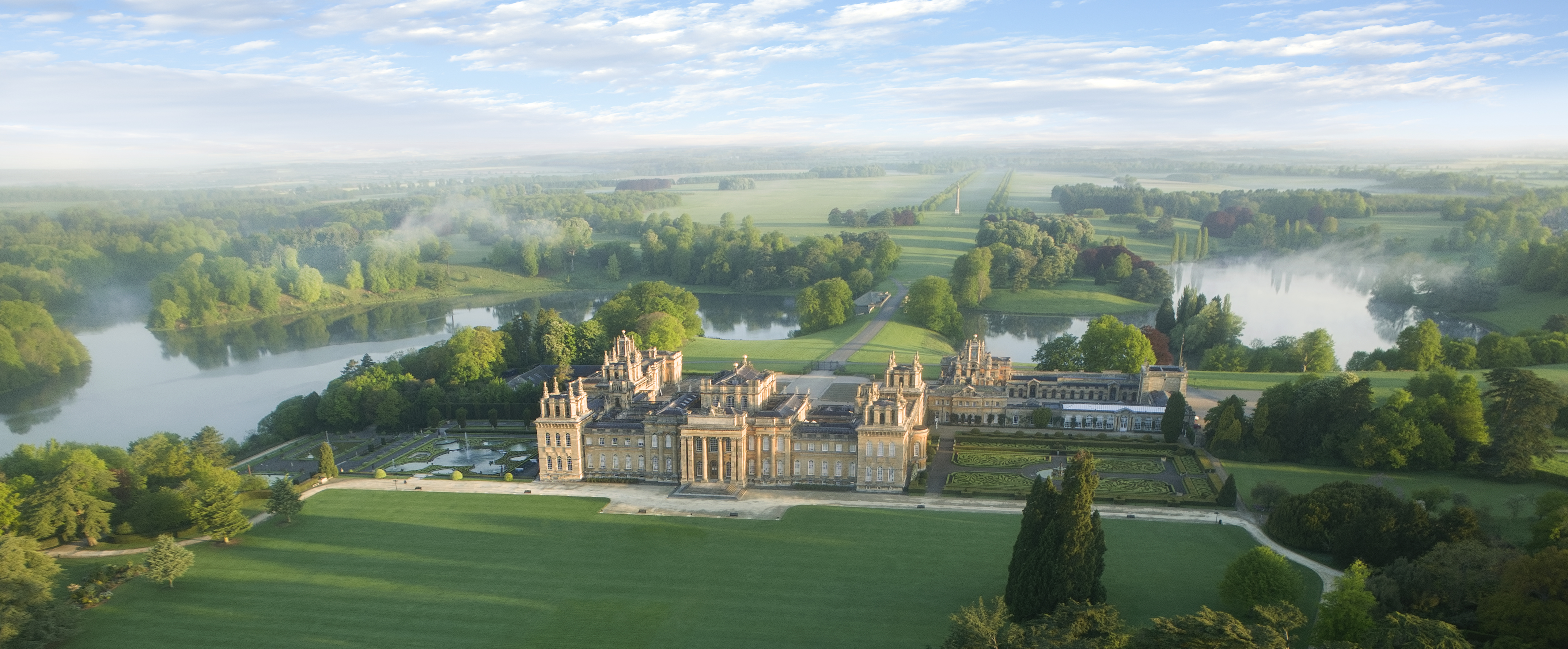 Blenheim Palace provides the stunning setting for the autumn literary festival.