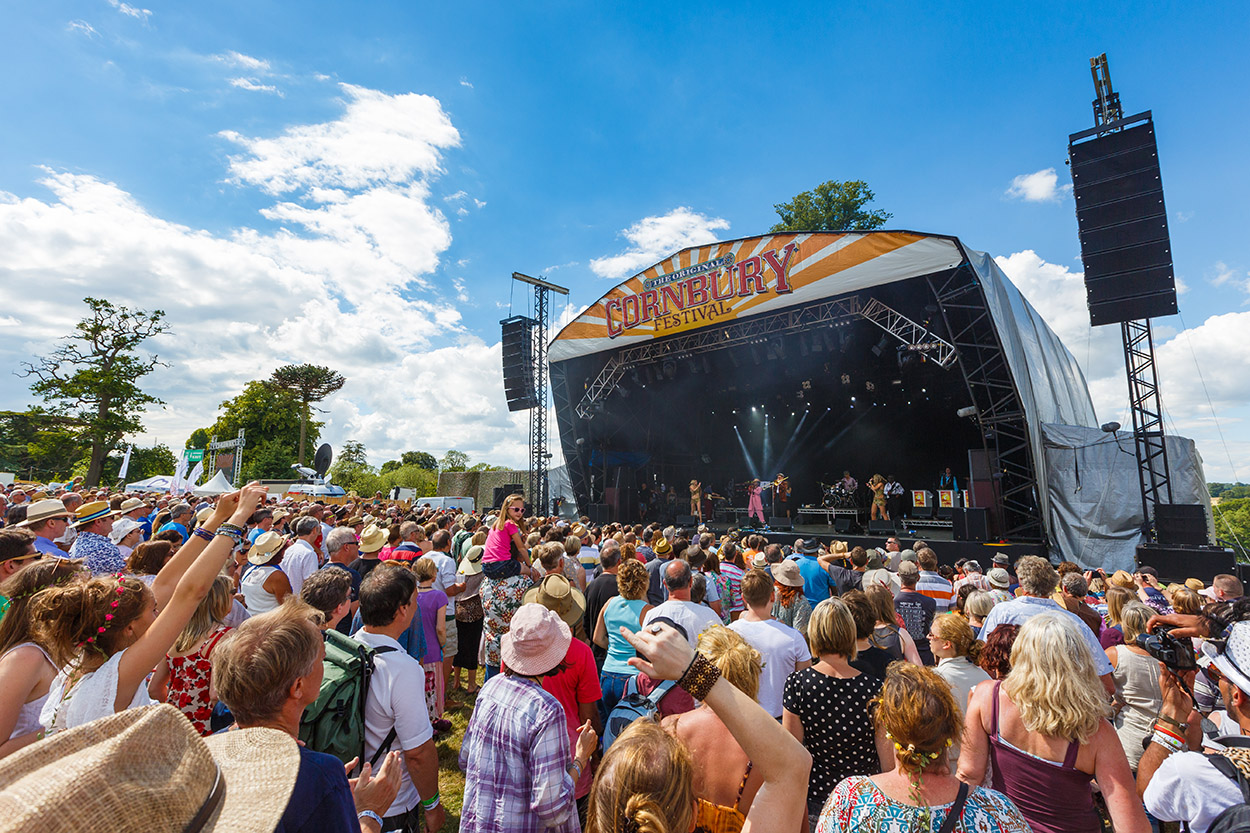 Cornbury is one of the country's most popular family music festivals.