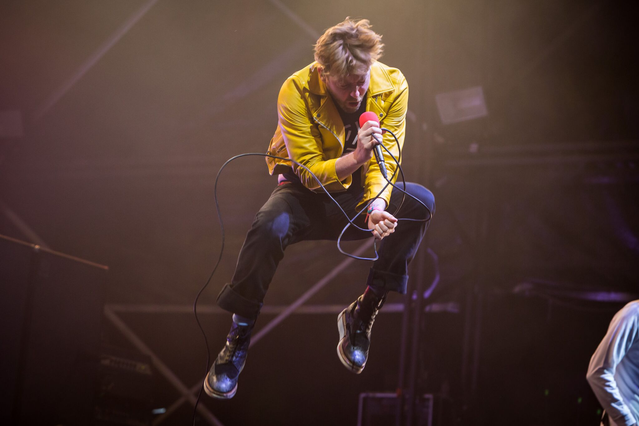 The Kaiser Chiefs in action on Friday night.