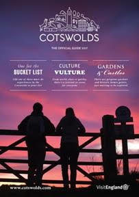 The front cover of the new Cotswolds Visitor Guide.