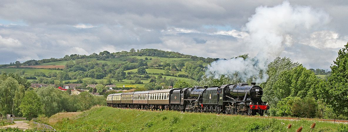 2016 was a record-breaking year for the Gloucestershire Warwickshire Steam Railway.