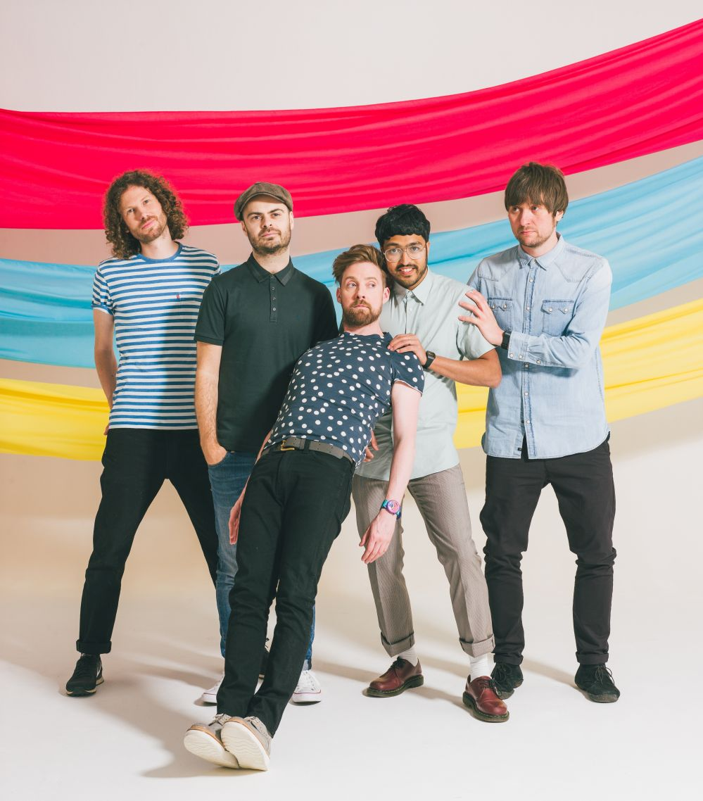 The Kaiser Chiefs. Picture by Danny North