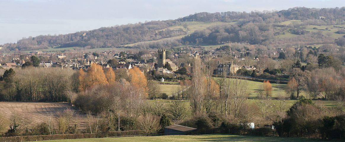 Sally-Anne Guibert took this lovely shot of Broadway from The Cotswold Way.