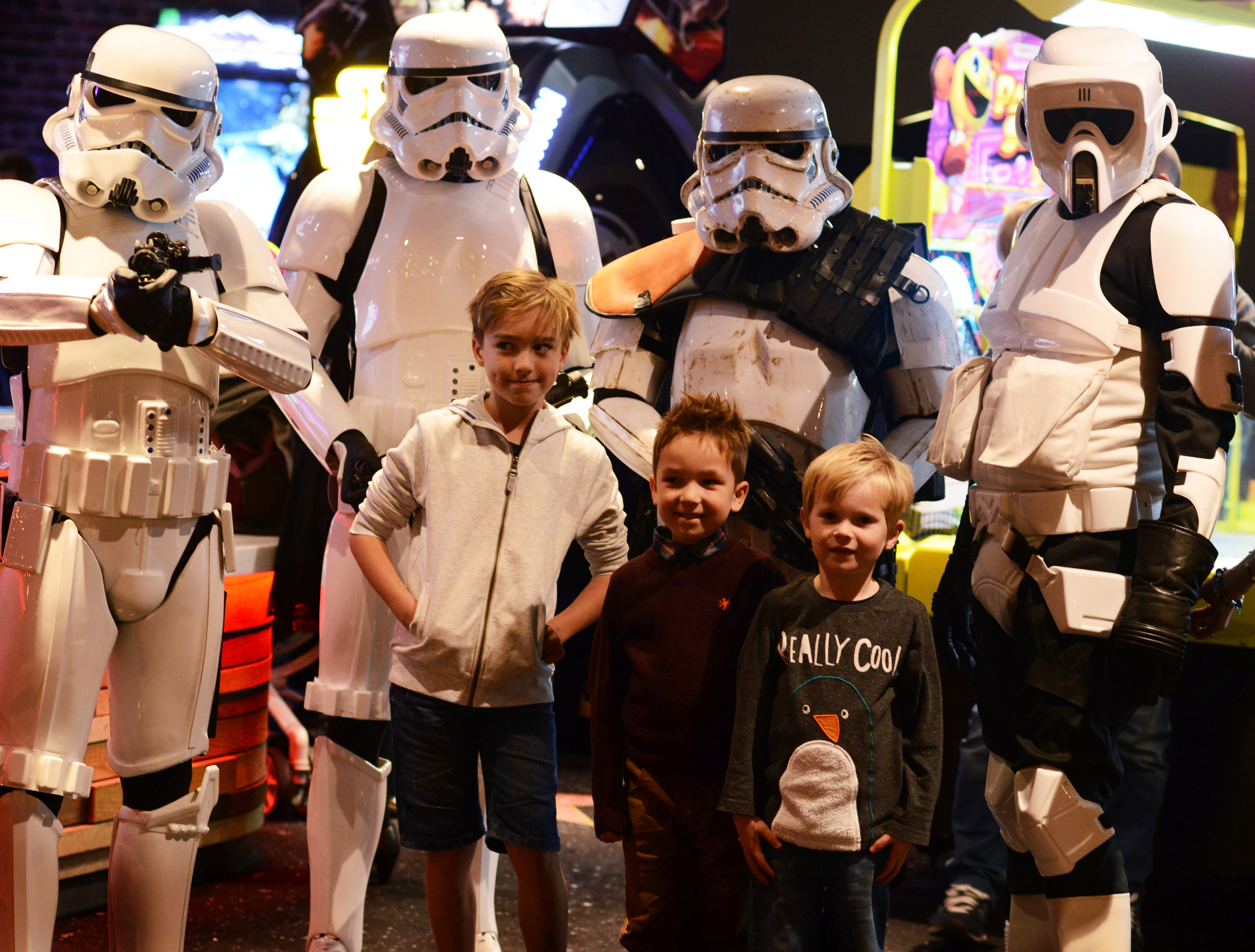 The Gloucestershire Troopers will be at Cineworld on Sunday.
