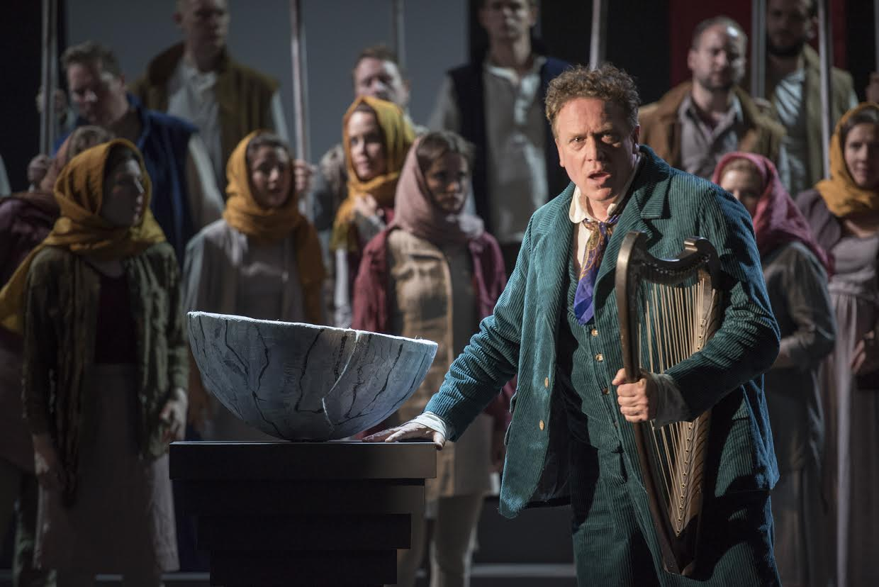 Neal Cooper, a thrilling Tannhäuser.  Picture: Matthew Williams-Ellis.