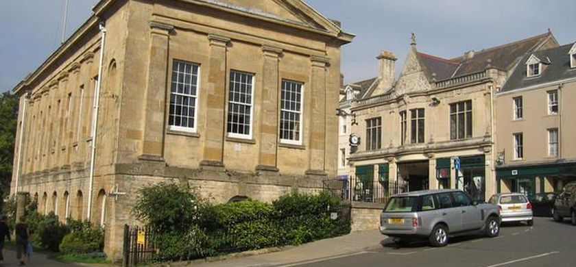 The centre of Chipping Norton